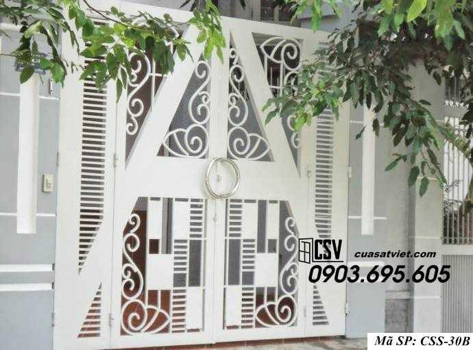 Mẫu cổng nhà đẹp CCS 30b