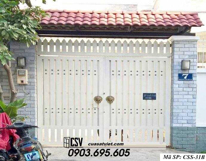 Mẫu cổng nhà đẹp CCS 31b