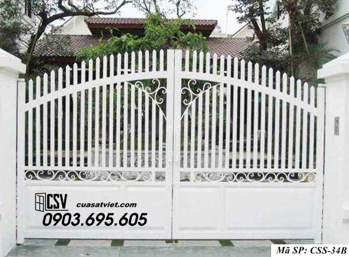 Mẫu cổng nhà đẹp CCS 34b