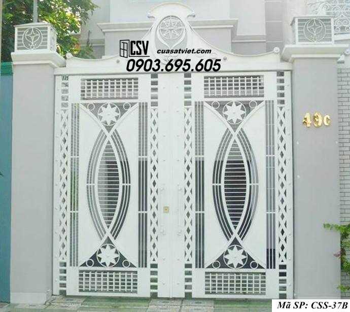 Mẫu cổng nhà đẹp CCS 37b
