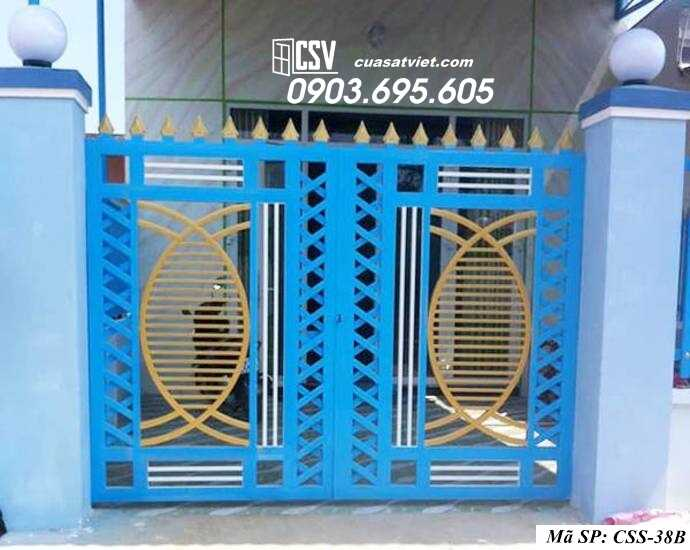 Mẫu cổng nhà đẹp CCS 38b