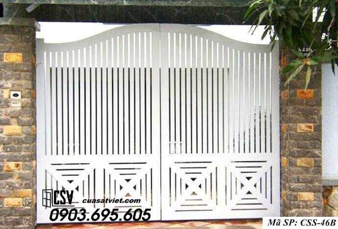 Mẫu cổng nhà đẹp CCS 46b