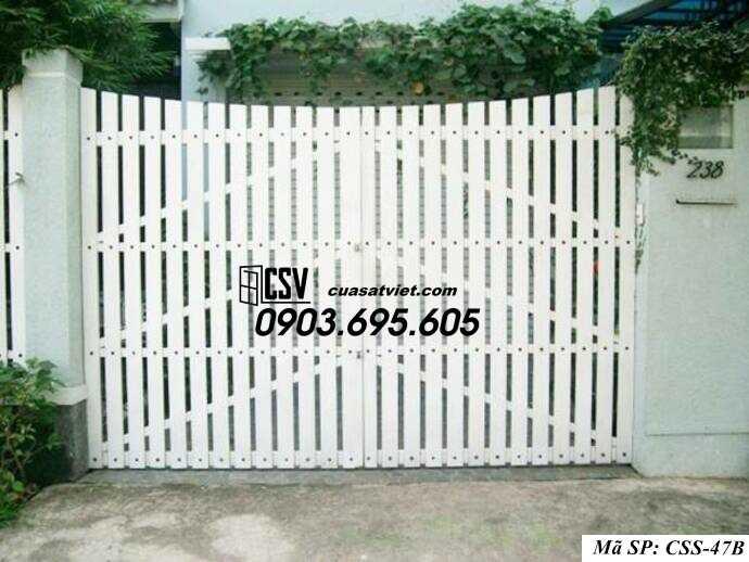 Mẫu cổng nhà đẹp CCS 47b