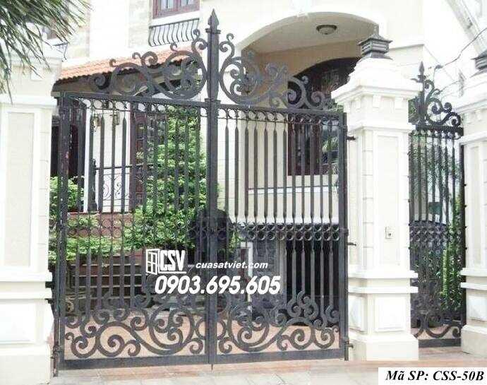 Mẫu cổng nhà đẹp CCS 50b