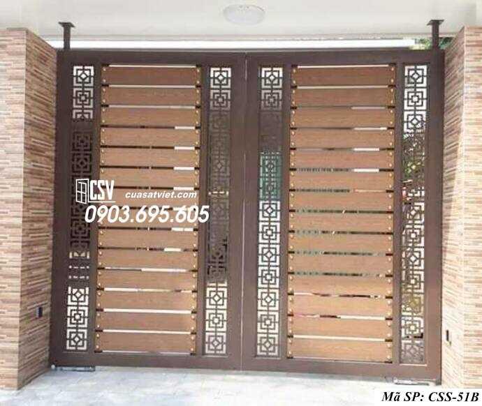 Mẫu cổng nhà đẹp CCS 51b