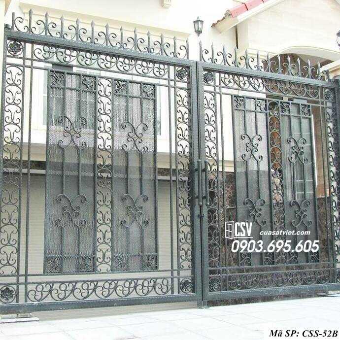 Mẫu cổng nhà đẹp CCS 52b