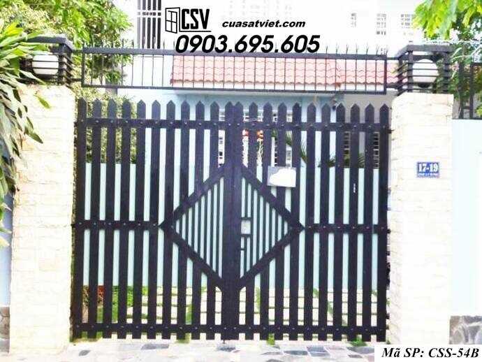 Mẫu cổng nhà đẹp CCS 54b