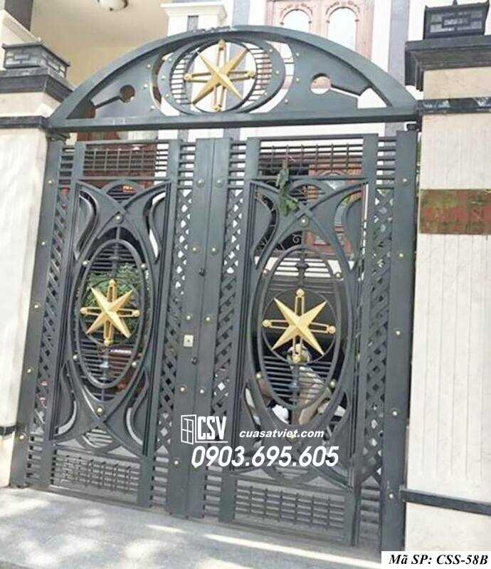 Mẫu cổng nhà đẹp CCS 58b