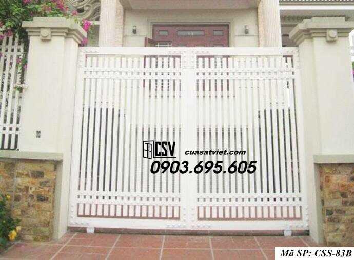 Mẫu cổng nhà đẹp CCS 83b