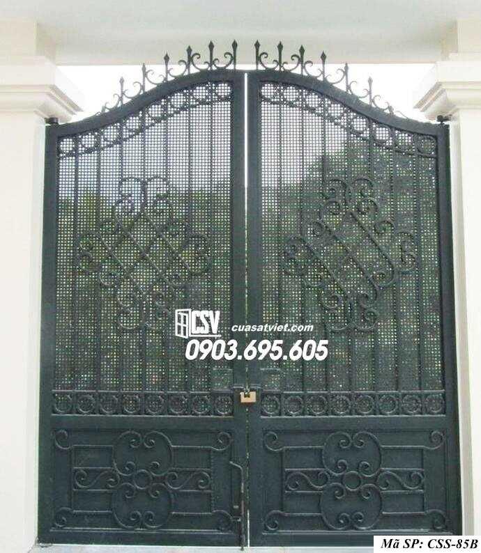 Mẫu cổng nhà đẹp CCS 85b