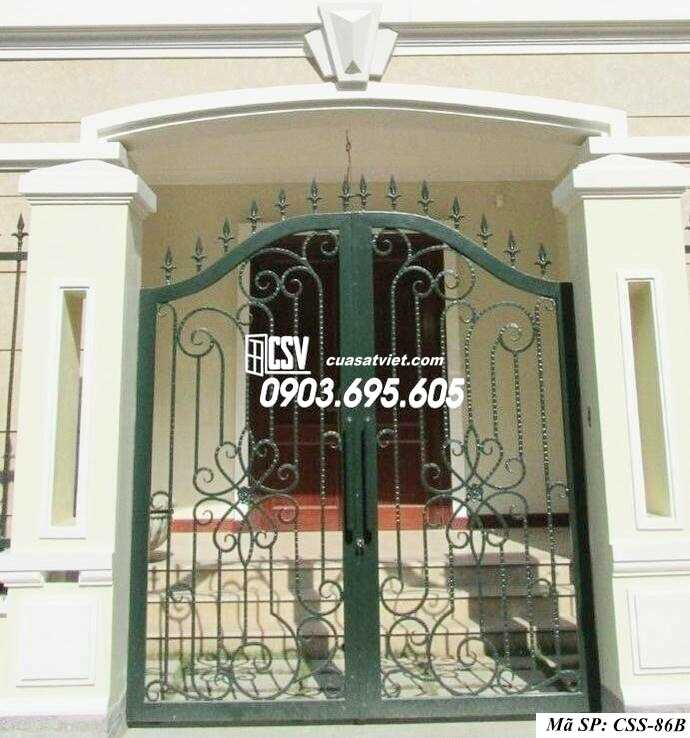 Mẫu cổng nhà đẹp CCS 86b