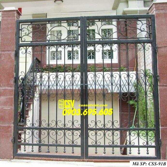 Mẫu cổng nhà đẹp CCS 91b