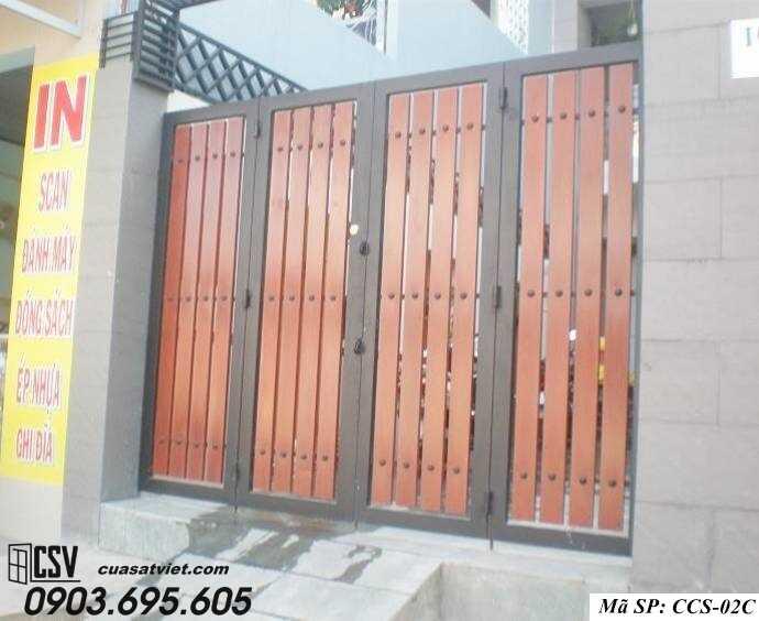 Mẫu cổng nhà đẹp CCS 02C