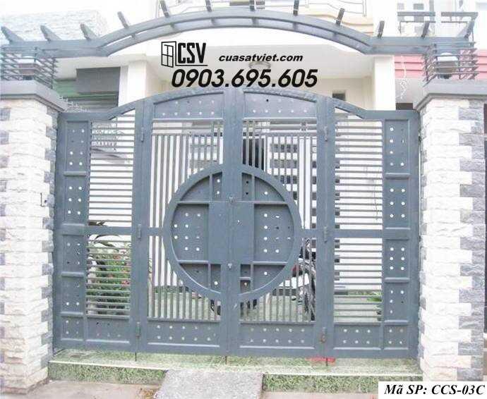 Mẫu cổng nhà đẹp CCS 03c
