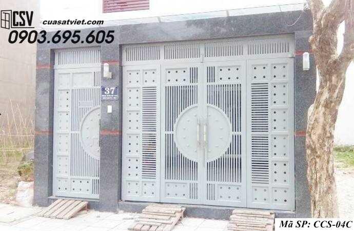 Mẫu cổng nhà đẹp CCS 04c