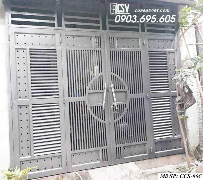 Mẫu cổng nhà đẹp CCS 06c