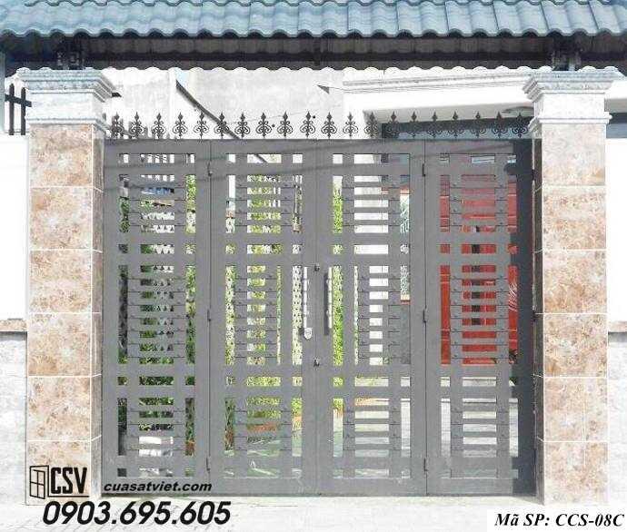 Mẫu cổng nhà đẹp CCS 08c