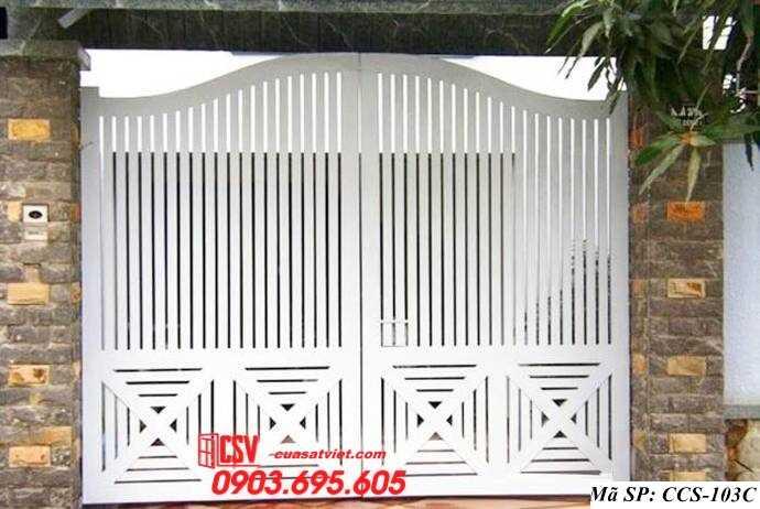 Mẫu cổng nhà đẹp CCS 103c
