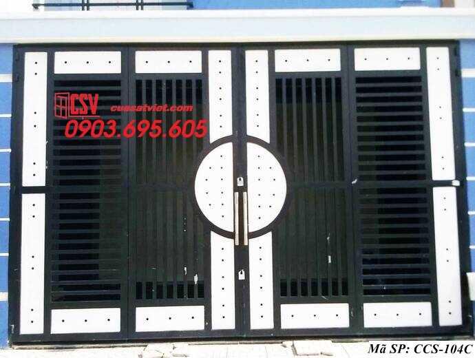 Mẫu cổng nhà đẹp CCS 104c
