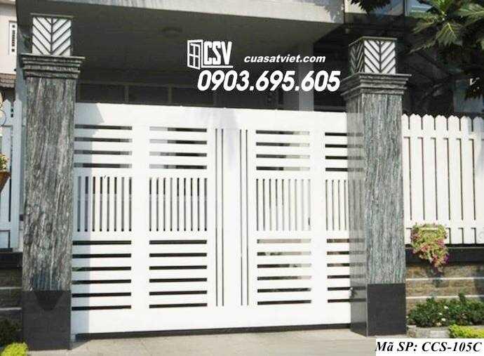 Mẫu cổng nhà đẹp CCS 105c