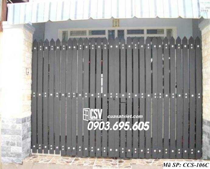 Mẫu cổng nhà đẹp CCS 106c