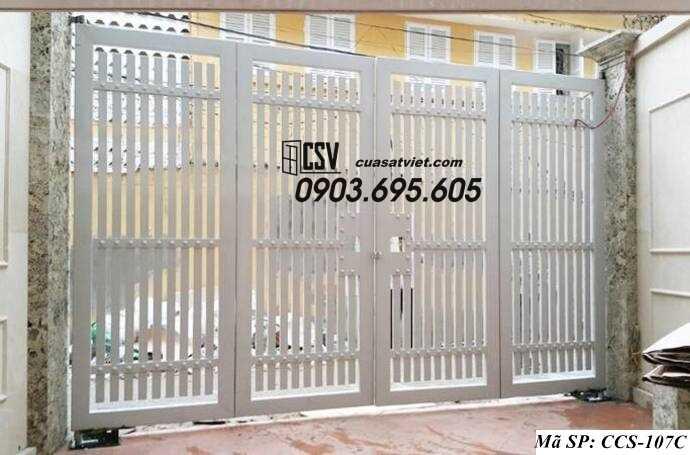 Mẫu cổng nhà đẹp CCS 107c