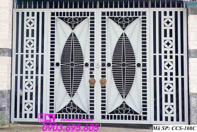 Mẫu cổng nhà đẹp CCS 108c