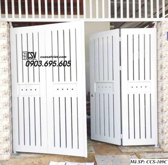 Mẫu cổng nhà đẹp CCS 109c