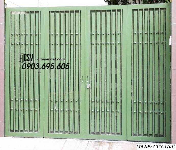 Mẫu cổng nhà đẹp CCS 110c