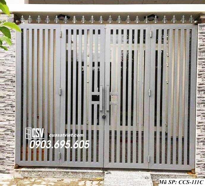 Mẫu cổng nhà đẹp CCS 111c