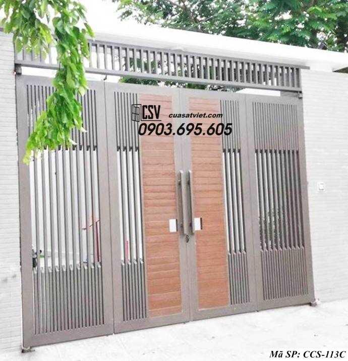 Mẫu cổng nhà đẹp CCS 113c