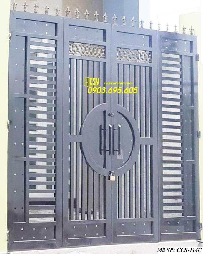 Mẫu cổng nhà đẹp CCS 114c
