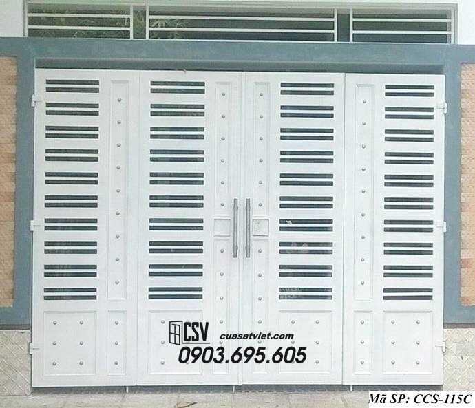 Mẫu cổng nhà đẹp CCS 115c