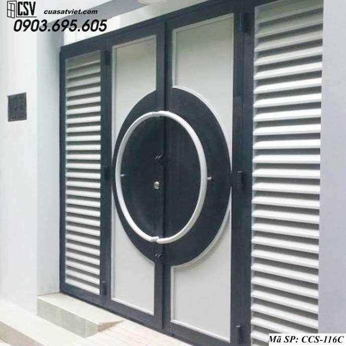 Mẫu cổng nhà đẹp CCS 116c