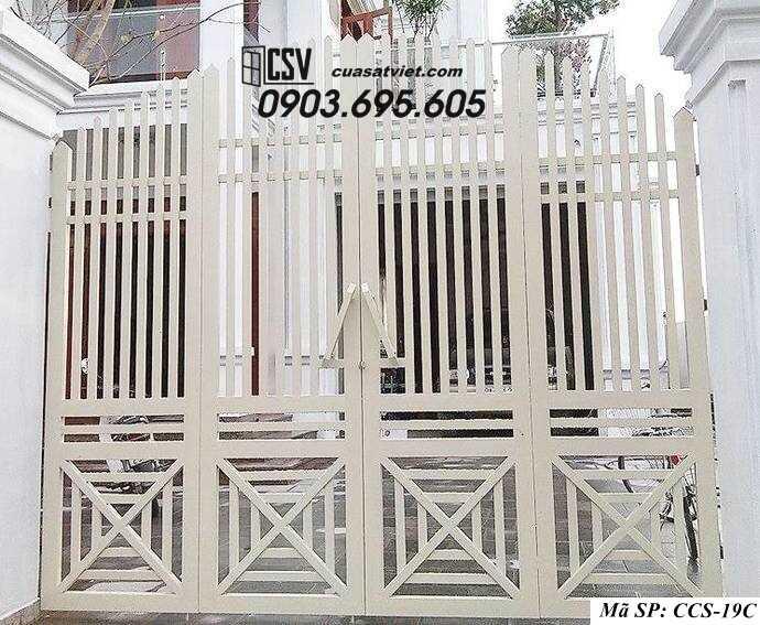 Mẫu cổng nhà đẹp CCS 19c