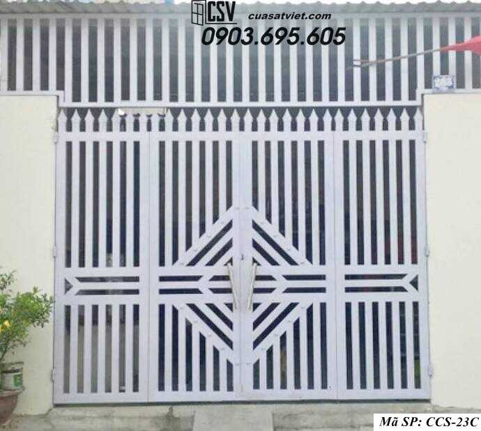 Mẫu cổng nhà đẹp CCS 23c