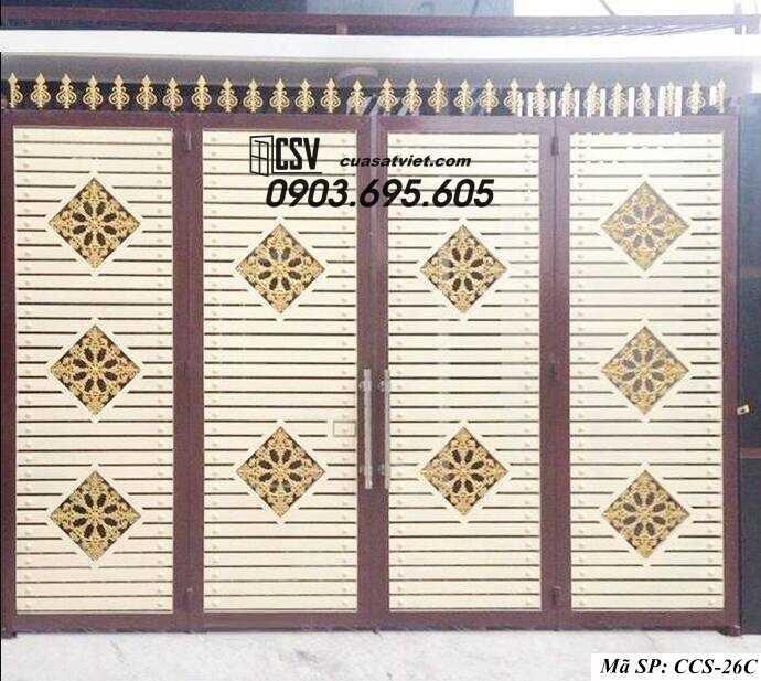 Mẫu cổng nhà đẹp CCS 26c