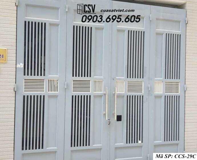 Mẫu cổng nhà đẹp CCS 29C