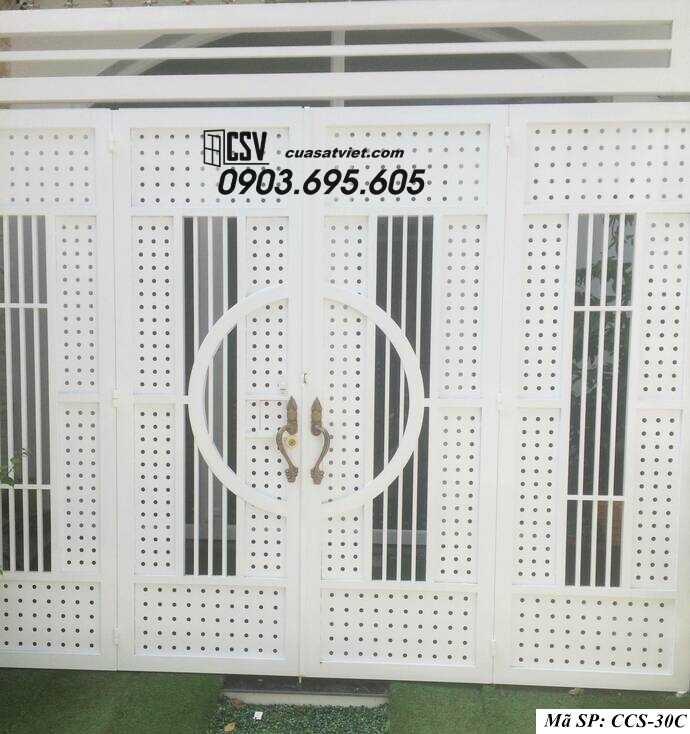 Mẫu cổng nhà đẹp CCS 30c