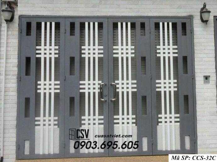 Mẫu cổng nhà đẹp CCS 32c