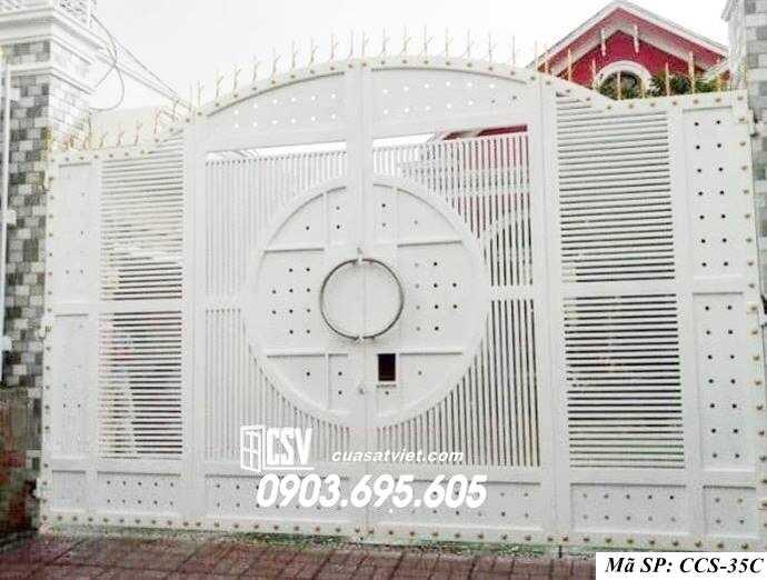 Mẫu cổng nhà đẹp CCS 35c