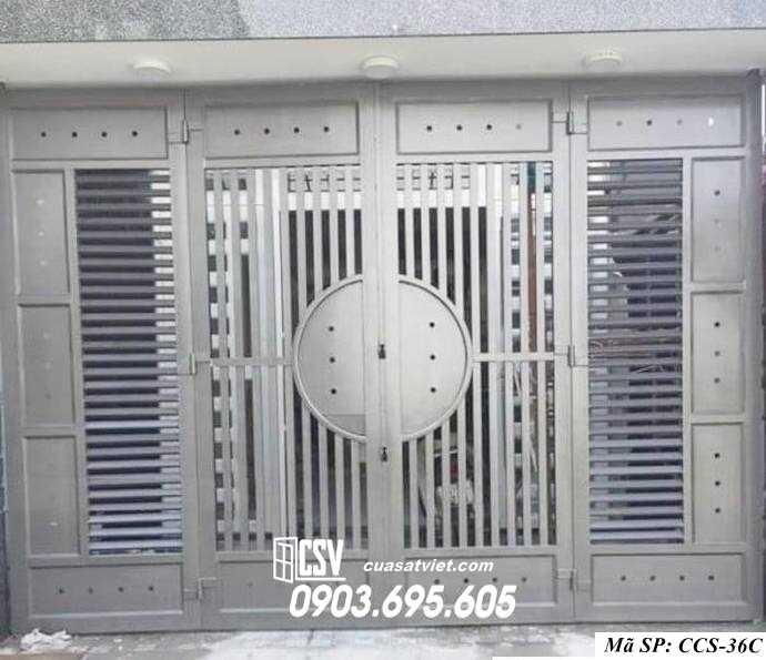 Mẫu cổng nhà đẹp CCS 36c