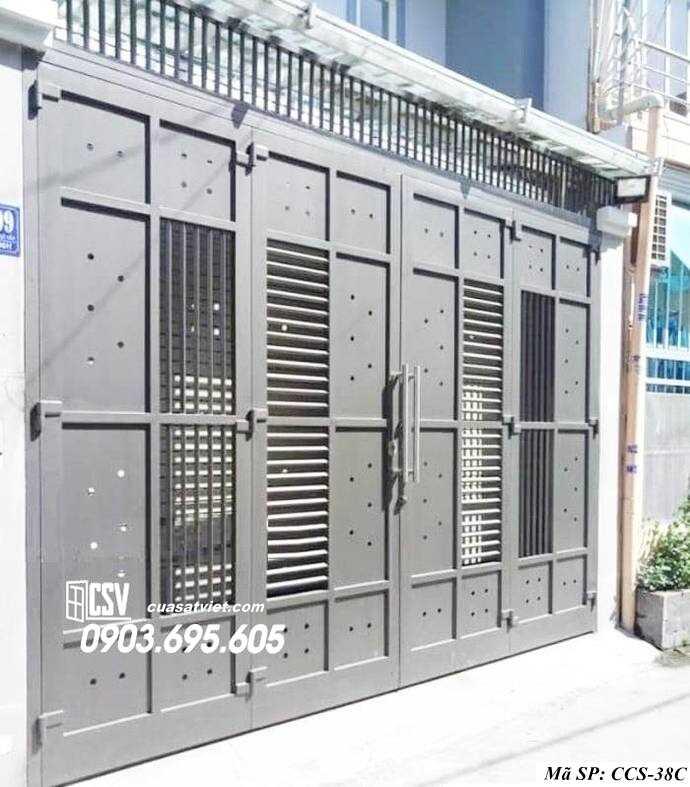 Mẫu cổng nhà đẹp CCS 38c