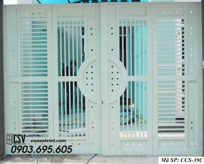 Mẫu cổng nhà đẹp CCS 39c
