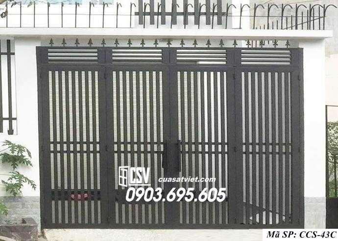 Mẫu cổng nhà đẹp CCS 43c