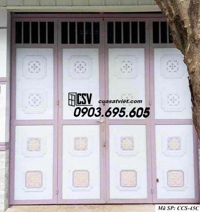 Mẫu cổng nhà đẹp CCS 45c
