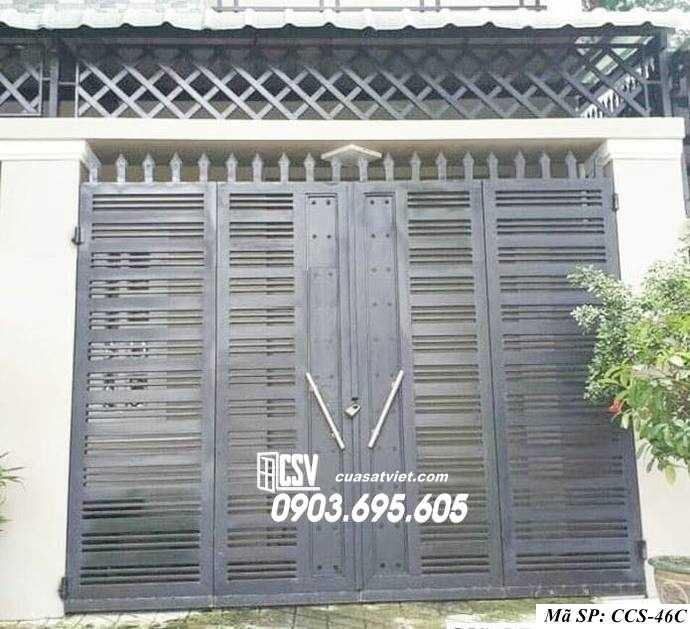 Mẫu cổng nhà đẹp CCS 46c