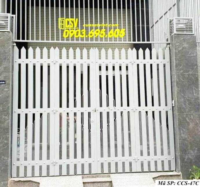 Mẫu cổng nhà đẹp CCS 47c