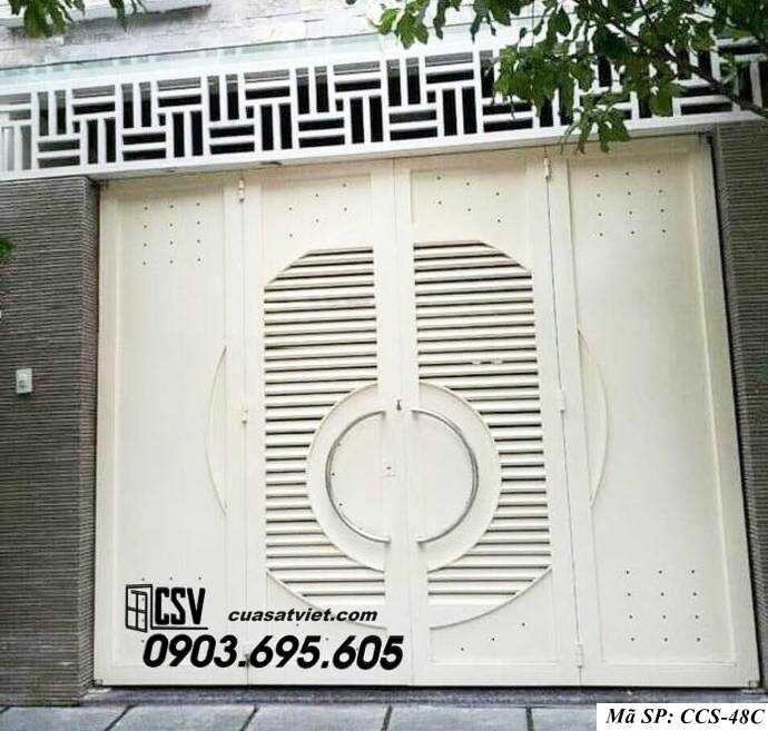 Mẫu cổng nhà đẹp CCS 48C