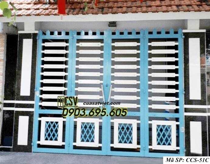 Mẫu cổng nhà đẹp CCS 51c